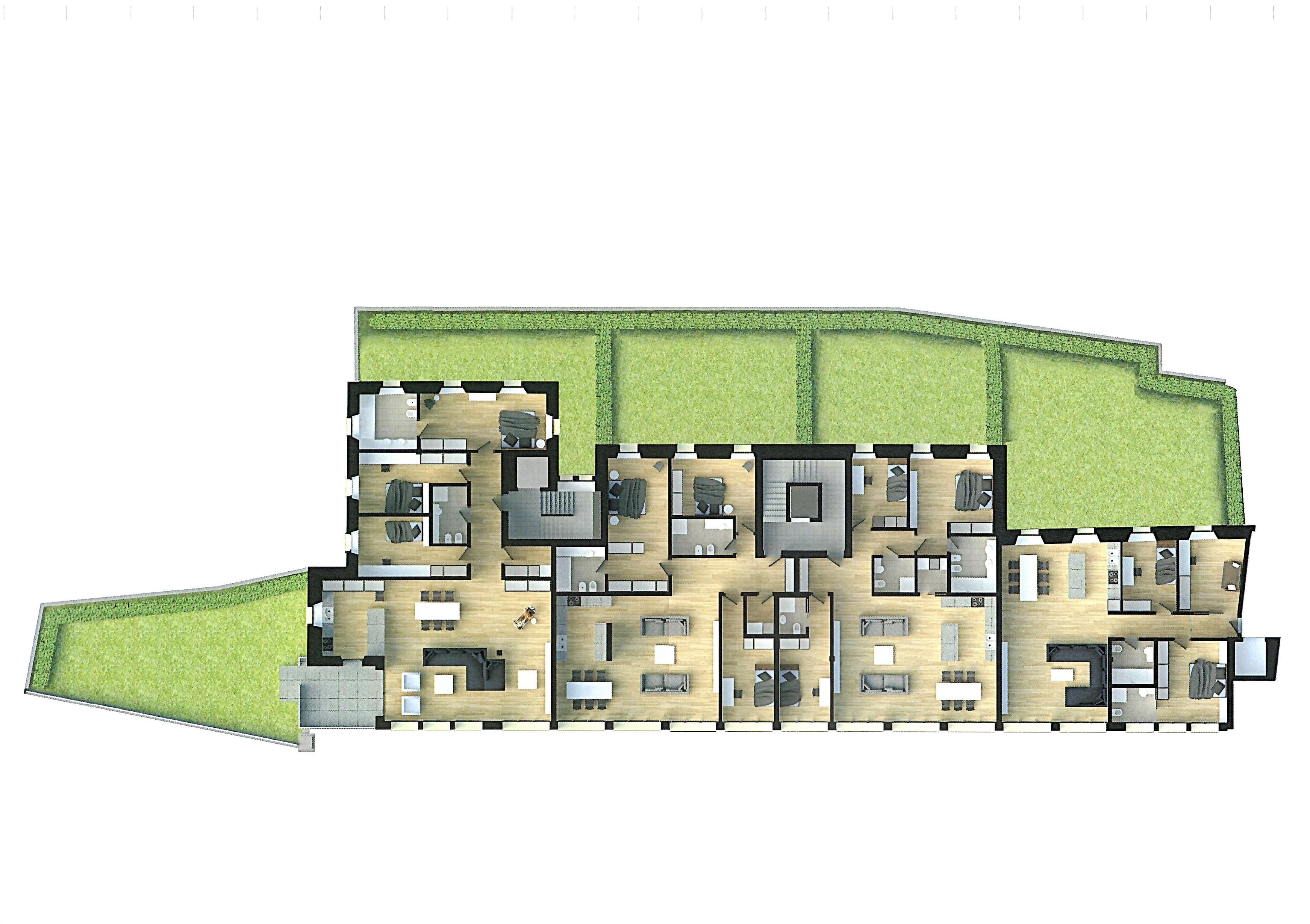 Lugano ch proposte immobiliari saletti srl for Planimetrie della casa del ranch di un livello